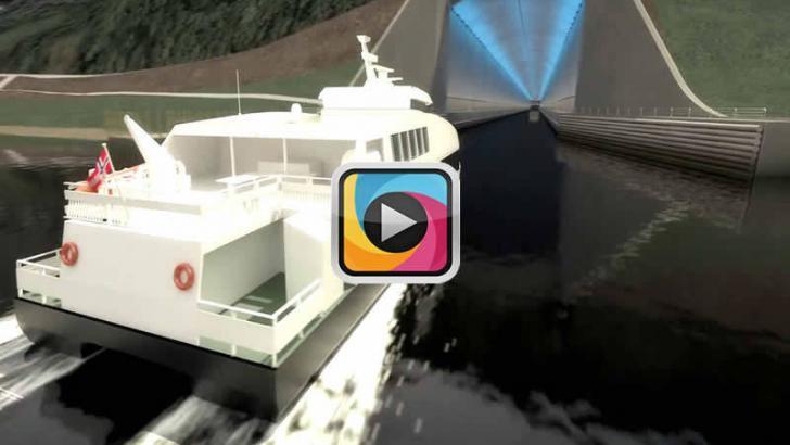 Dünyanın ilk gemi tüneli Stad 2029'da açılacak!