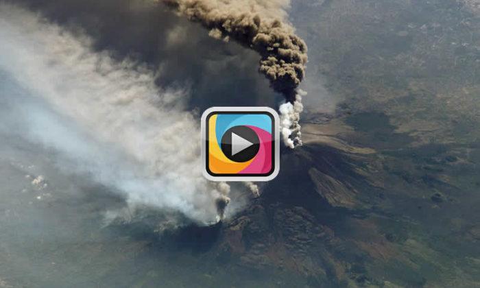 Etna yanardağı patladı! Çekim yapan 10 gazeteci yaralandı!