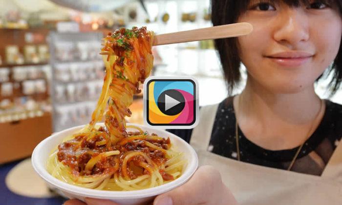 """Japonların 3D yazıcı kullanmadan elle yaptıkları """"sahte yemek"""" sanatı"""