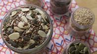 Tohum çekirdekleri ile hazırlanmış lif ve mineral kaynaklı kahvaltılık nasıl yapılır?