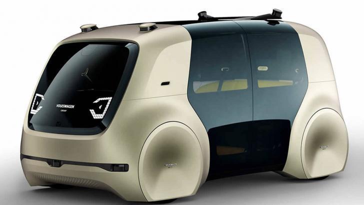 Volkswagen'in gelecekteki tek tuşlu arabası: VW Sedric