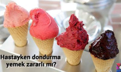 Soğuk algınlığında yada boğaz ağrısında dondurma yemek zararlı mı?