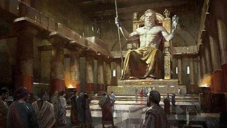 Dünyanın Yedi Harikası Nelerdir? | Zeus Heykeli
