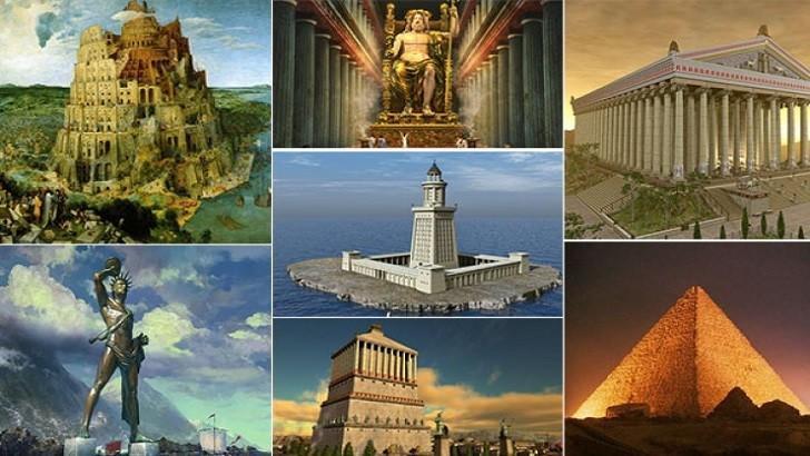 Dünyanın Yedi Harikası Nelerdir?