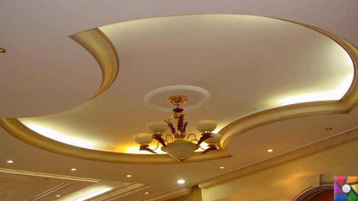Alçı nedir? Alçı nasıl oluşur? Özellikleri nelerdir? Nerelerde kullanılır? | Alçıdan yapılmış dekor tavan
