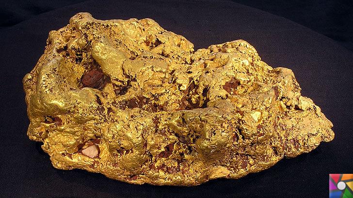 Altın diğer madenlerden neden daha değerli? | Altının doğadaki hallerinden biri