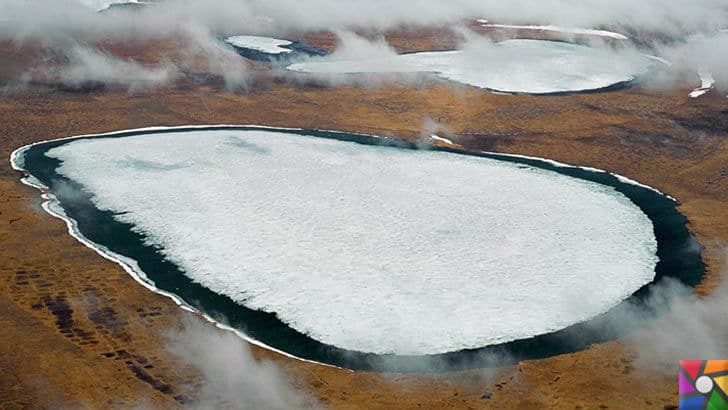 Buzullar eridikçe donmuş virüsler tekrar canlanmaya başlıyor! | Çin'in Tibet platolarında eriyen göller