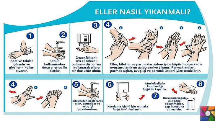 Eller nasıl doğru yıkanır? Eller neden yıkanır? El temizliği nasıl yapılmalı? | Sağlıklı el temizliği