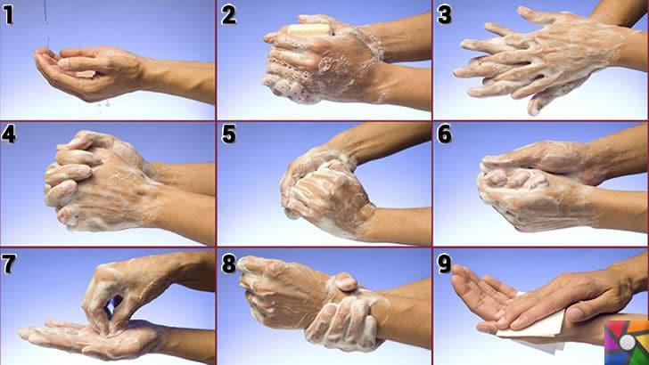 Eller nasıl doğru yıkanır? Eller neden yıkanır? El temizliği nasıl yapılmalı? | el yıkama nasıl yapılır fotoğraflarla