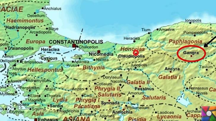 Gangra (Çankırı) Antik Kenti nerede? Tarihçesi ve Kalıntıları | Antik zamanın bölge kent haritaları