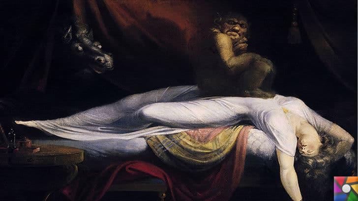 Karabasan Çökmesi yada tıbbi adıyla Uyku felci nedir? |  The Nightmare, 1781'de Henry Fuseli tarafından çizilen tabloda uyku felcinin sebebi