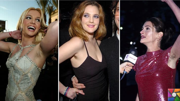 Koltuk altı kıllarını almak sağlıklı mı yoksa zararlı mı? | Britney Spears, Drew Barrymore, Julia Roberts
