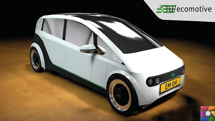 Otomobil tarihinde bir ilk: Ketenden Biyolojik Araba!