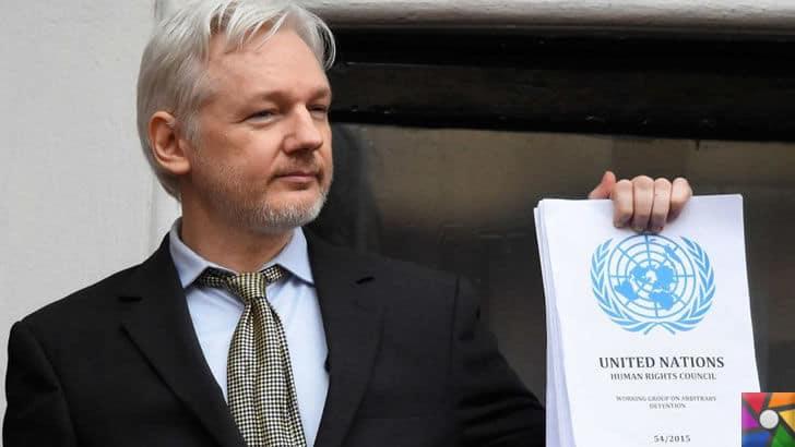 Wikileaks'i kuran Julian Assange kimdir?   Birleşmiş Milletler dosyasını açıklarken