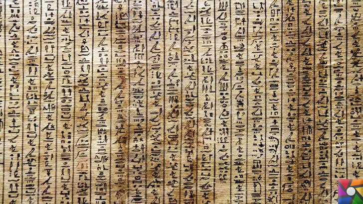 Arkeoloji'de kullanılan terimler nelerdir? Arkeoloji Sözlüğü | Hiyeroglif Yazısı Fotoğrafı