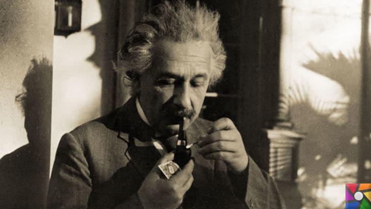 Einstein'ın sıra dışı alışkanlıklarını biliyor muydunuz? |Piposu her zaman yanındaydı