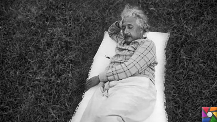 Einstein'ın sıra dışı alışkanlıklarını biliyor muydunuz? | Zekiler nasıl yaşar? | Günde 10 saat uyurdu