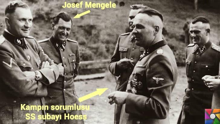 Hitlerin Ölüm Meleği Josef Mengele Kimdir? Hayatı ve Ölümcül Deneyleri | josef Mengele ve Kamp komutanı Hoess