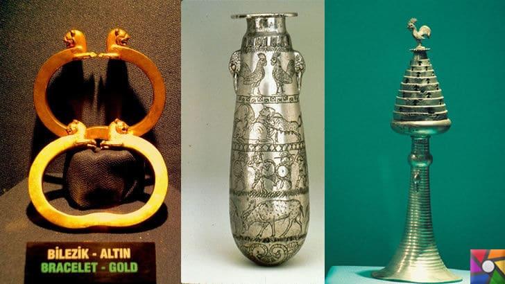 Karun Hazinesi Soygunu ve Hikayesi nedir? Karun Hazineleri Nerede? | Uşak Arkeoloji Müzesindeki Karun Hazinesi Bilezik ve Vazolar