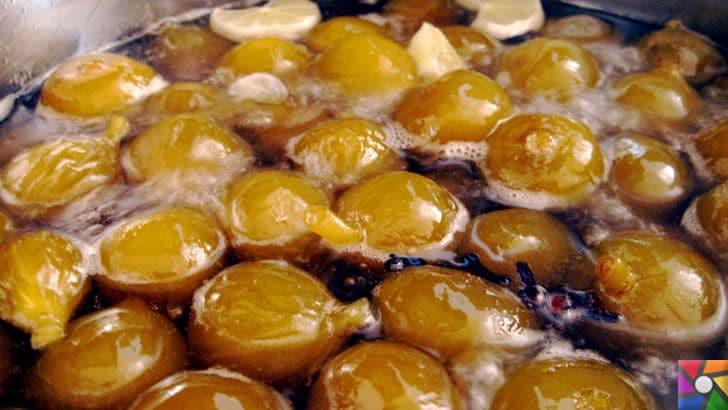 Adana'nın meşhur kurutulmuş incir reçeli nasıl yapılır? | İncirler kaynatılıyor
