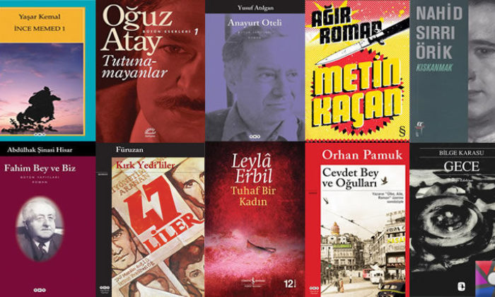 Türk Edebiyatında okunması gereken en iyi 100 Roman | 2017 sıralaması