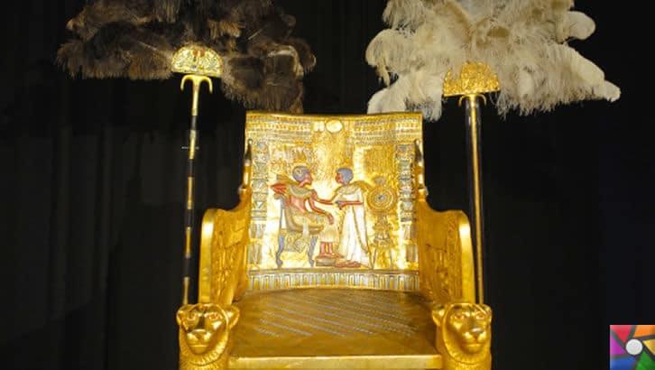 Tutankhamun'un Laneti ve Mumyaların gizli DNA kodları | Mezardaki Altın Taht