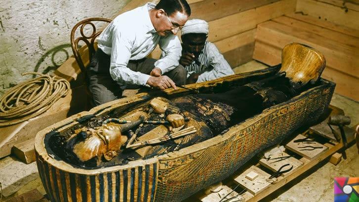 Tutankhamun'un Laneti ve Mumyaların gizli DNA kodları | Howard Carter