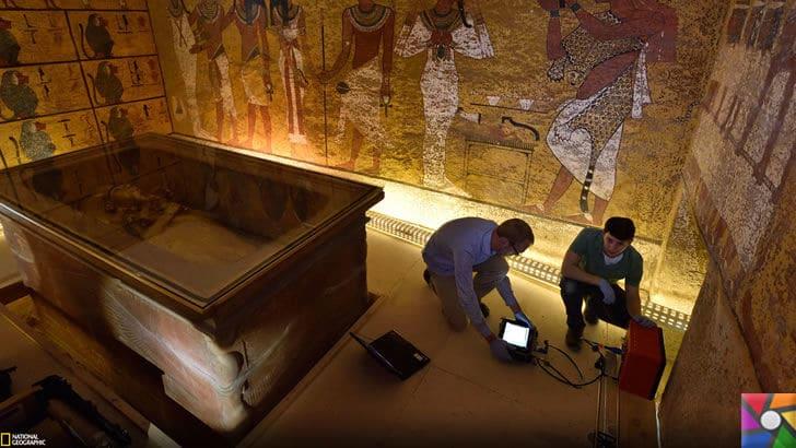 Tutankhamun'un Laneti ve Mumyaların gizli DNA kodları | Bilim insanları halen mezar odasını inceliyor