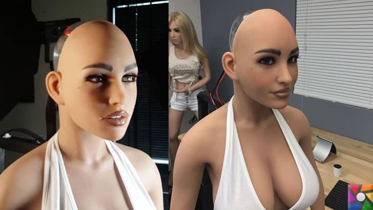 Yapay zeka ilk defa cinsel ürünler sektöründe kullanıldı! | Harmony Seks Robotu