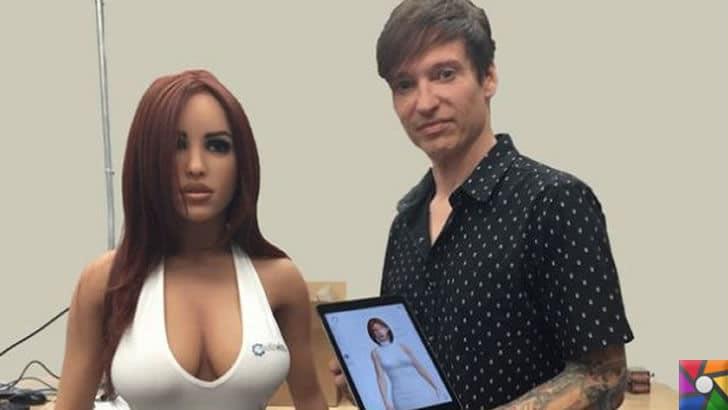 Yapay zeka ilk defa cinsel ürünler sektöründe kullanıldı! | Harmony Seks Robotu veMatt McMullen