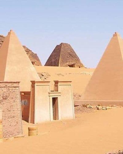 Afrika tarihinin en güçlü Kush Krallığını biliyor musunuz? ilk Piramitler