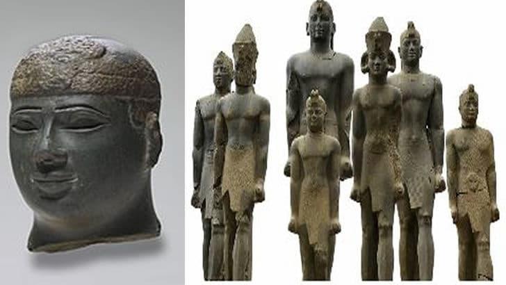 Afrika tarihinin en güçlü Kush Krallığını biliyor musunuz? | Kush Medeniyeti Kral Heykelleri