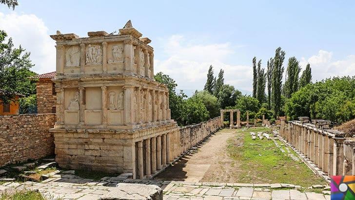 Afrodisias Antik Kenti nerede? Tarihçesi ve Kalıntıları nelerdir? | Sebasteion