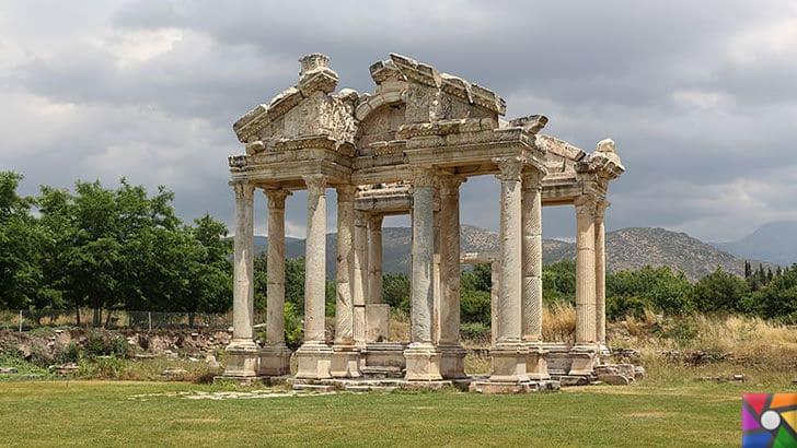 Afrodisias Antik Kenti nerede? Tarihçesi ve Kalıntıları nelerdir? |Tetrapylon