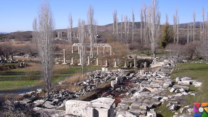 Afrodisias Antik Kenti nerede? Tarihçesi ve Kalıntıları nelerdir? |Agora Kalıntıları