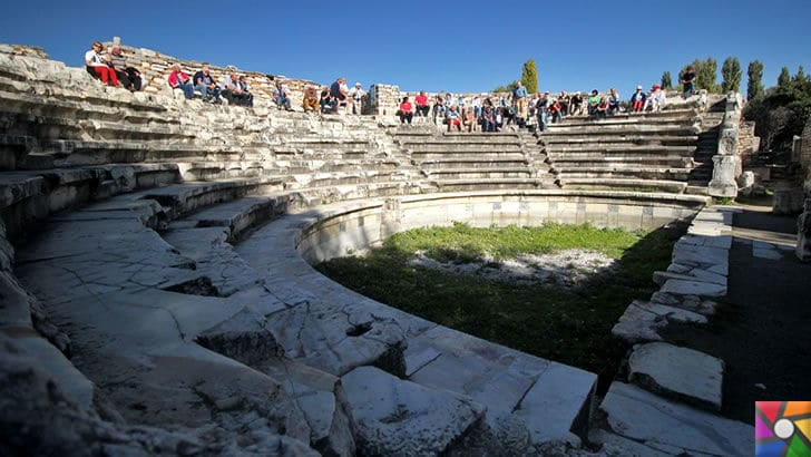 Afrodisias Antik Kenti nerede? Tarihçesi ve Kalıntıları nelerdir? |Tiyatro