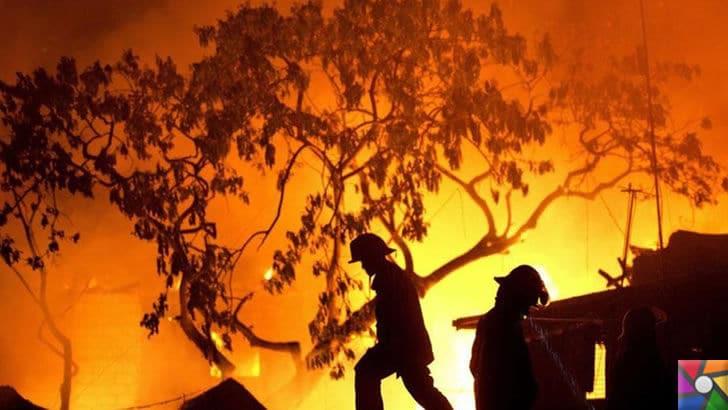 Felaket durumlarında neler yapılmalı? Tehlikeden nasıl korunulur? | Yangınlar geniş yüzeyli yayılabilen tehlikeli doğal afetlerden biridir