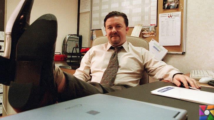 Mutlu bir iş yeri için neler yapılmalıdır? Huzurlu çalışma ortamının sırrı | The Office'in kurgu karakteri olan ve utanç verici şakalar yapan patron David Brent