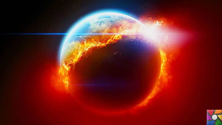 Dünyayı kasıp kavuran sıcaklıkların nedeni Küresel Isınma! | Dünyanın yaşam ömrü gittikçe kısalıyor