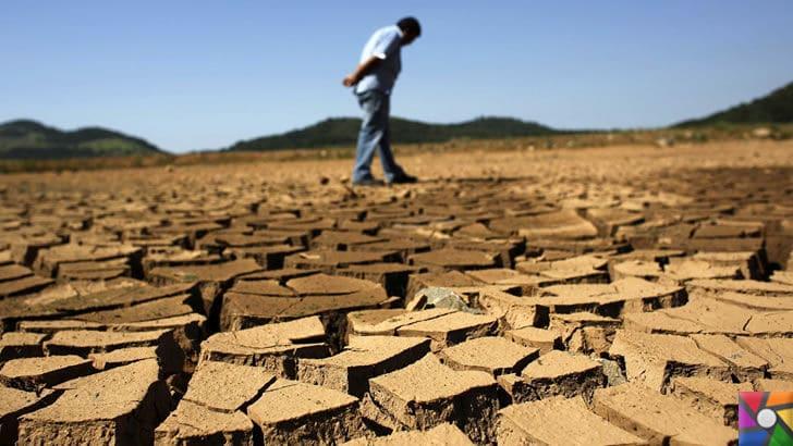 Dünyayı kasıp kavuran sıcaklıkların nedeni Küresel Isınma! | Küresel ısınmanın en kötü 2 sonucu: Kuraklık ve çölleşme