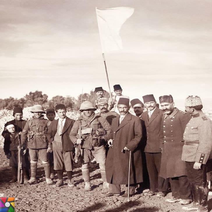 Osmanlı Devleti Kudüs'ü neden savaşmayarak İngilizlere teslim etti? | Kudüs'ün İngilizlere devrinin fotoğrafı