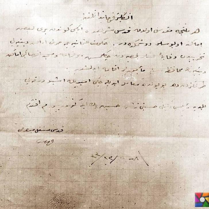 Osmanlı Devleti Kudüs'ü neden savaşmayarak İngilizlere teslim etti? |Kudüs mutassarrıfı İzzet Bey'in ingilizlere gönderdiği mektup