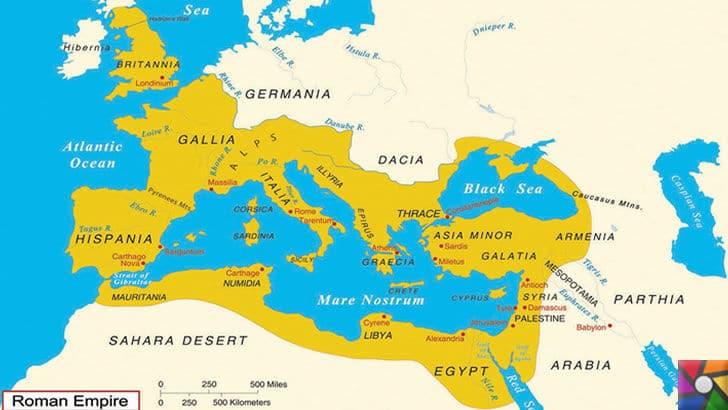 Roma ve Bizans döneminden kalan Surlar halen nasıl ayakta? Sırrı nedir? | Roma İmparatorluğunun hakim olduğu topraklar