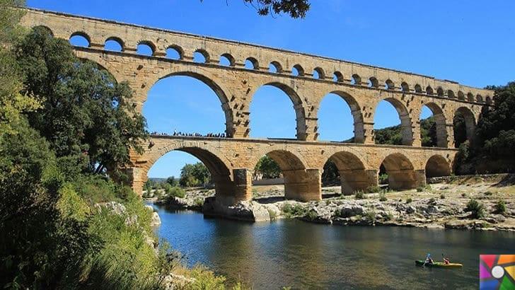 Roma ve Bizans döneminden kalan Surlar halen nasıl ayakta? Sırrı nedir? | Fransa'da bulunan Pont de Gard