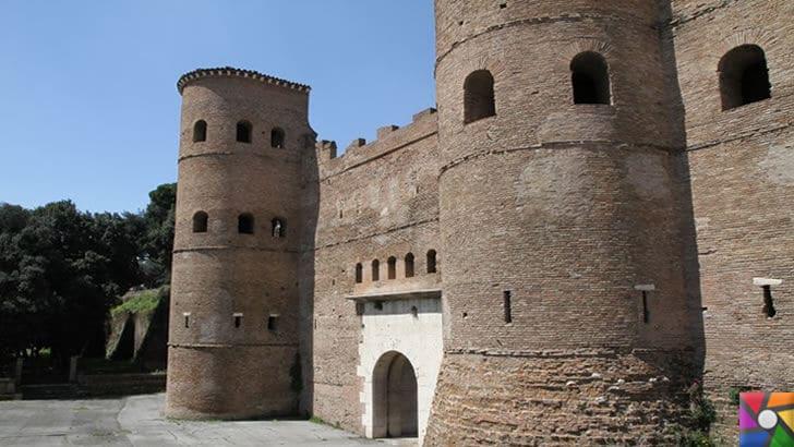 Roma ve Bizans döneminden kalan Surlar halen nasıl ayakta? Sırrı nedir? | Asinaria Kapısı- Roma