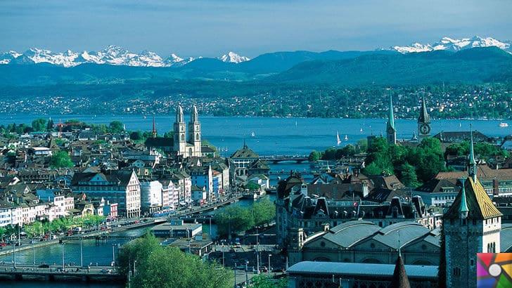Dünyanın en uzun ömürlü insanları hangi ülkelerde yaşıyor? | İsviçre'den Zürih kenti fotoğrafı