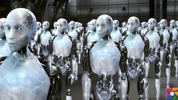 Yapay zeka ve katil robotlar insanlığın sonunu mu getirecek? | Ben Robot filminden bir sahne