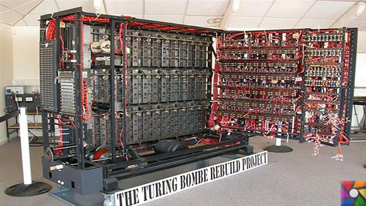 Alan Turing kimdir? Alan Turing'in Hayatı, Biyografisi ve İcatları | Günümüzde yeniden çalıştırılır hale gelmiş Turing Bombe Makinesinin içi