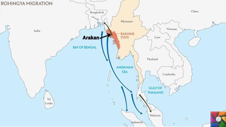 Budistler neden Sri Lanka ve Myanmar'da Müslümanları katlediyor? | Sri Lanka veMyanmar'ın haritadaki yeri ve komşuları