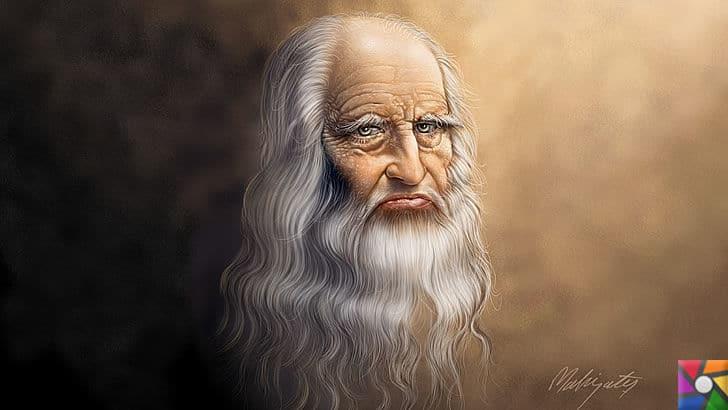 Leonardo da Vinci Kimdir? Hayatı, Biyografisi ve Teknik İcatları | Yaşlı Leonardo'nun resmi